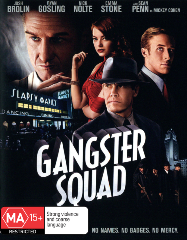 Gangster Squad on DVD