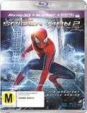The Amazing Spider-Man 2 3D DVD