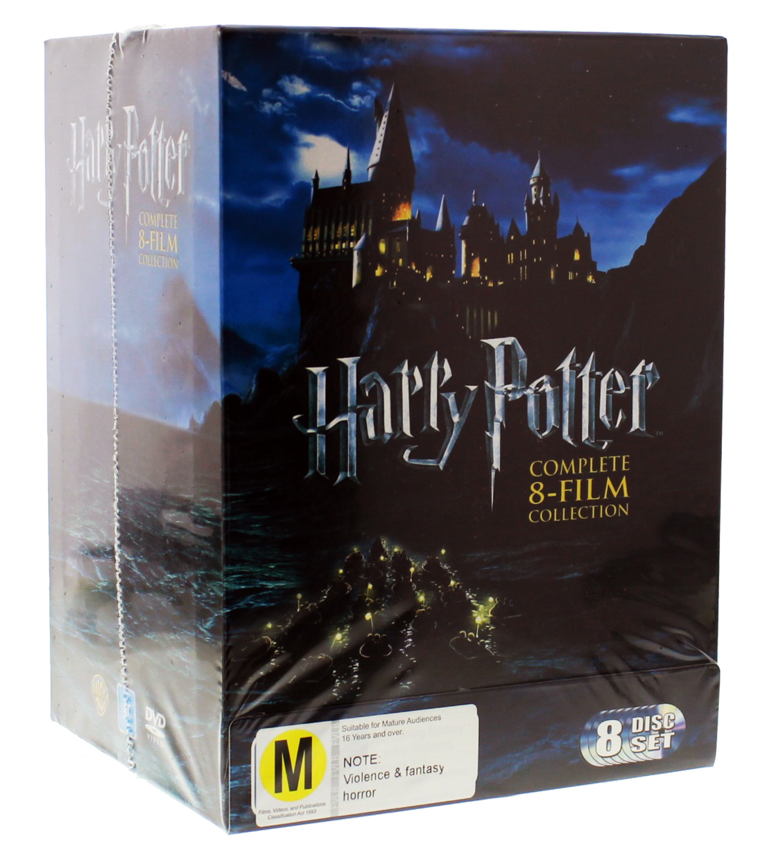 Harry Potter Book Box Set Australia : Harry potter complete film collection box set dvd