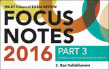 Wiley CIAexcel Exam Review 2016 Focus Notes by S.Rao Vallabhaneni