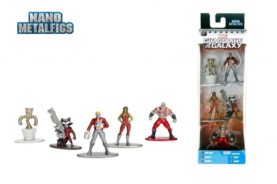 Jada Metal Minis: Marvel - Nano Metalfigs 5-Pack #2 image