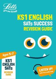 KS1 English SATs Revision Guide by Letts KS1 image