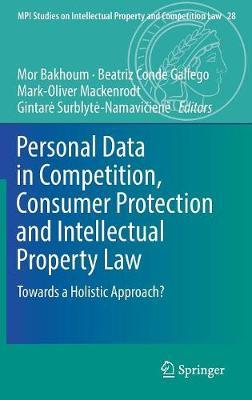 Personal Data in Competition, Consumer Protection and Intellectual Property Law image