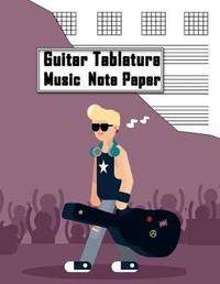 Guitar Tablature Music Note Paper by Grecian Dreamery