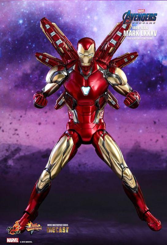 "Avengers: Endgame - Iron Man (Mark LXXXV) - 12"" Articulated Figure"