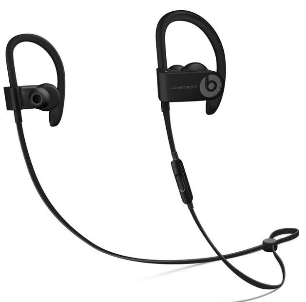 Beats: Powerbeats3 Wireless Sports Earphones - Sweat resistant & ideal for iPhone - Black