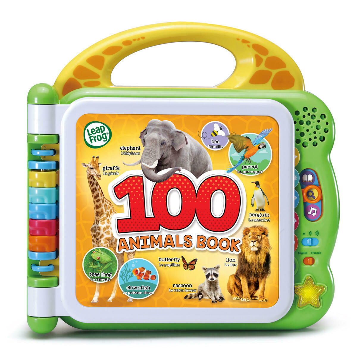 Leapfrog: Learning Friends 100 Animals Book (English / French) image