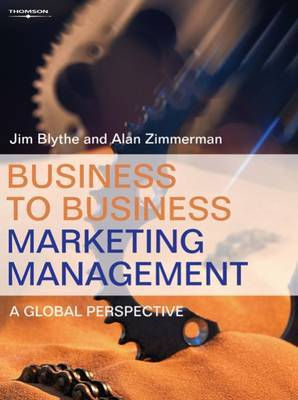 Business to Business Marketing Management by Alan Zimmerman image