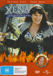 Xena - Warrior Princess: Season 5 - Part 1 (3 Disc Set) on DVD