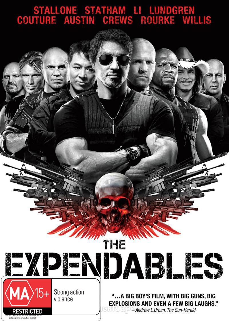 The Expendables DVD image