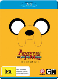 Adventure Time: The Complete Fifth Season - Part 1 on Blu-ray