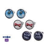 Doctor Who Tardis, Bow Tie and Bow Ties Are Cool Stud Earrings
