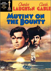 Mutiny on the Bounty on DVD