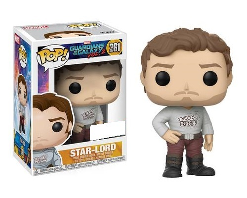 Guardians of the Galaxy: Vol. 2 - Star-Lord (Gear Shift Shirt Ver.) Pop! Vinyl Figure image