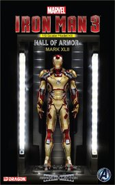 Marvel: Hall of Armour (Mark XLII) - Vignette Model Kit