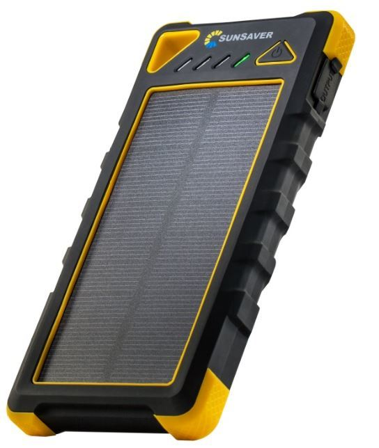 SunSaver Classic 16,000mAh Solar Powered Battery Bank | at