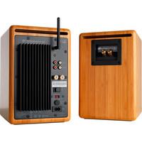 Audioengine: 5+ Wireless Powered Speakers (pair) - Solid Bamboo image