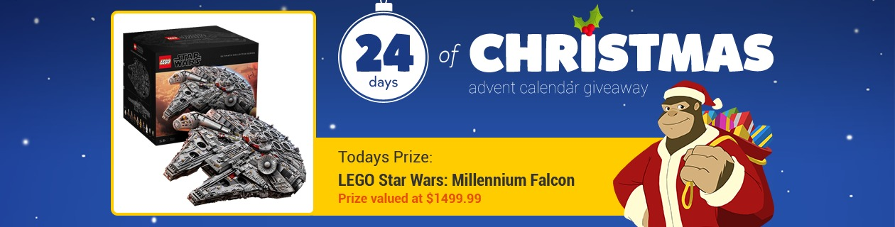 24 Days: LEGO Star Wars Millennium Falcon