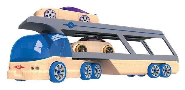 Automoblox: BR100 Hercules Hauler - Vehicle Playset