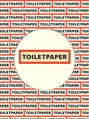 Toiletpaper Magazine 17 by Maurizio Cattelan