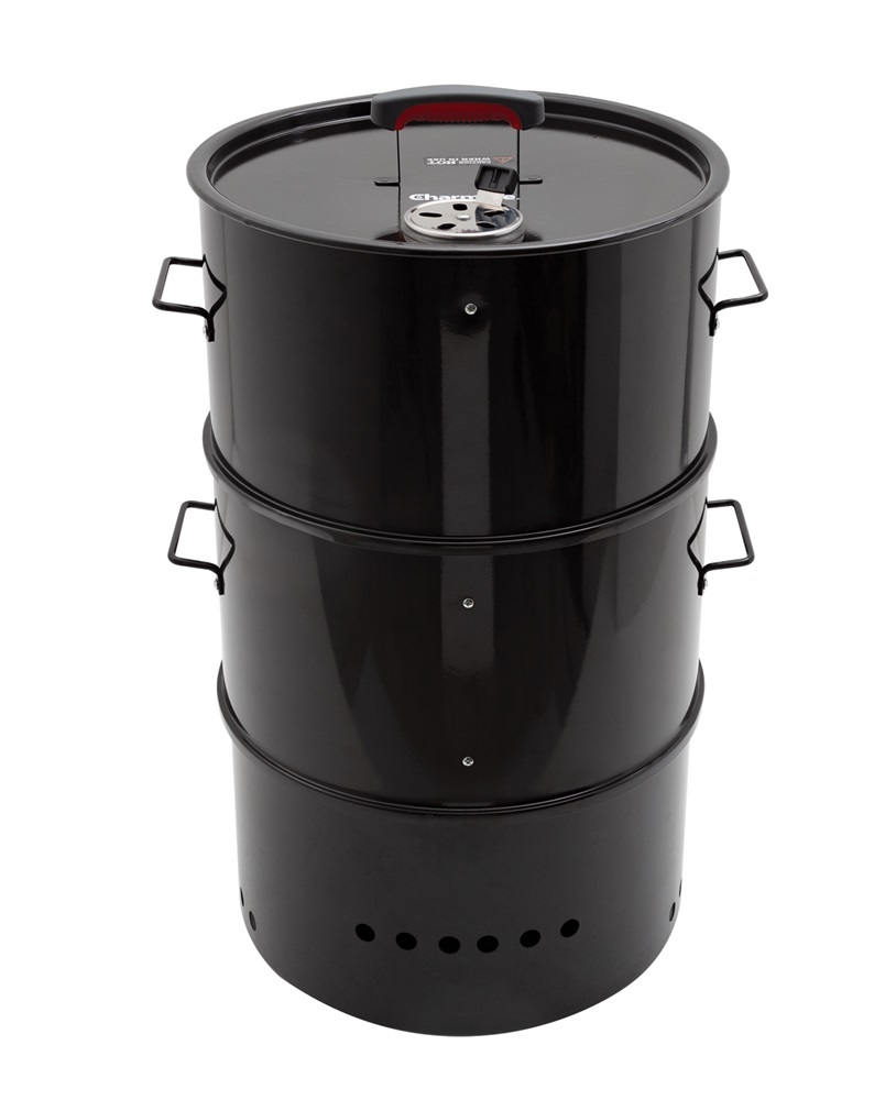 Charmate Stack Drum Smoker & BBQ Grill image
