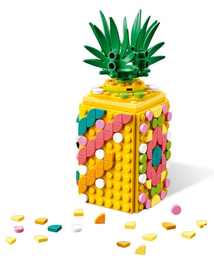 LEGO DOTS: Pineapple Pencil Holder - (41906) image