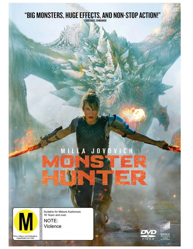Monster Hunter on DVD
