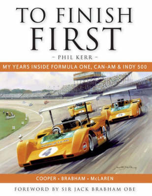 To Finish First by Phil Kerr image