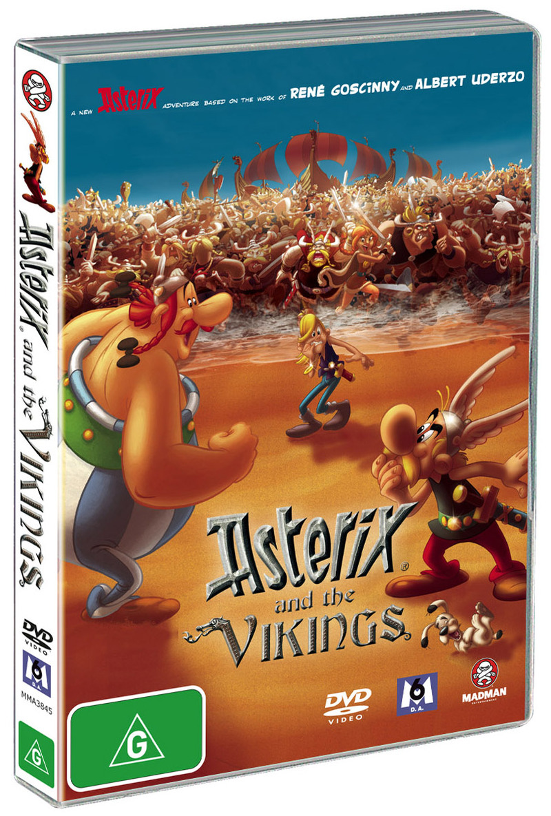 Asterix And The Vikings on DVD image