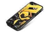 id America Cushi Plus Robotics Skin for iPhone 5 - Yellow