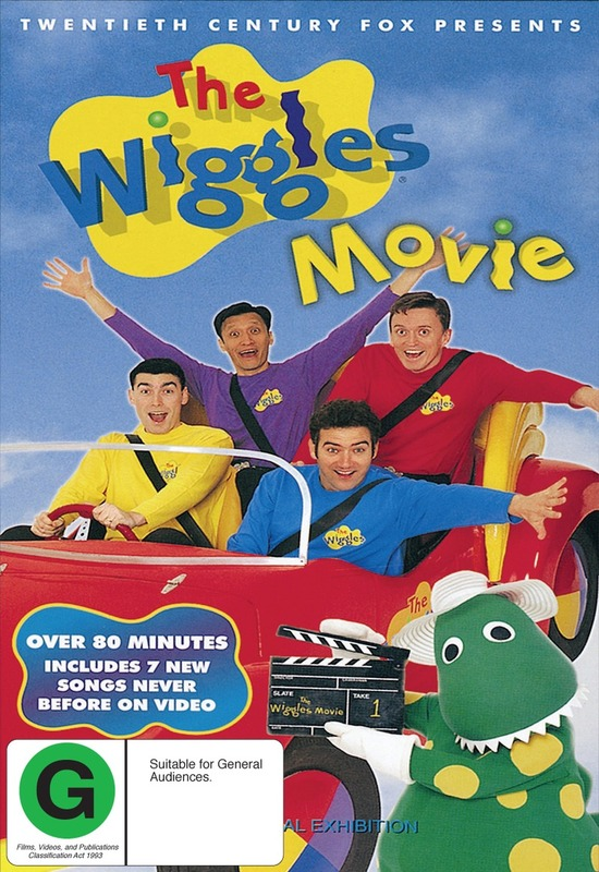 The Wiggles Movie on DVD