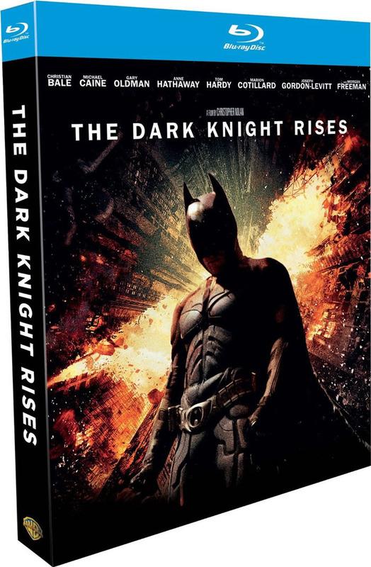 The Dark Knight Rises on Blu-ray