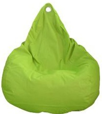 Beanz Big Bean Indoor/Outdoor Bean Bag Cover - Lime