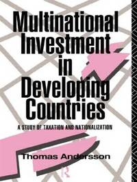 Multinational Investment in Developing Countries by Thomas Andersson image