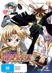 Black Cat - Vol. 2 on DVD