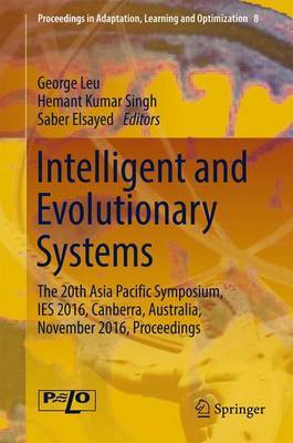 Intelligent and Evolutionary Systems image