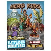 Arcknight Flat Plastic Minis: Hero Kids