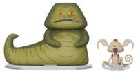 Jabba The Hutt + Salacious Crumb - Vynl. Figure 2-Pack