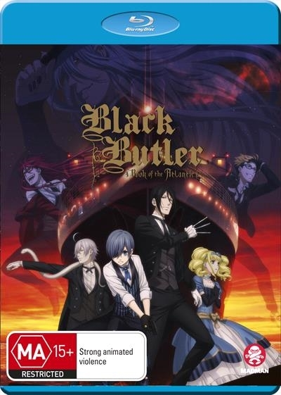 Black Butler: Book Of The Atlantic on Blu-ray