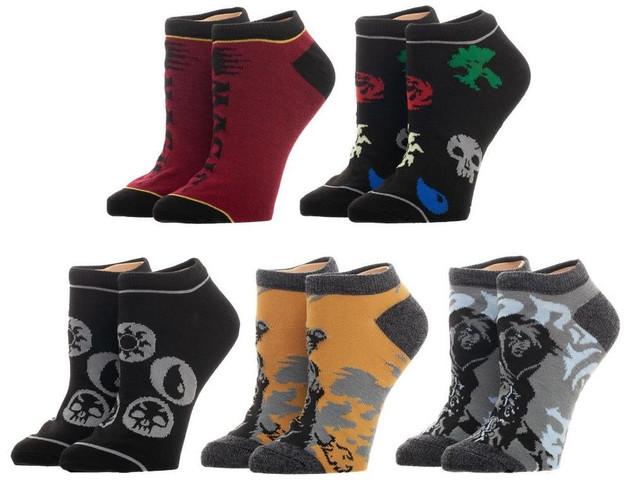 Magic the Gathering - Men's Ankle Socks Set (5-Pack)