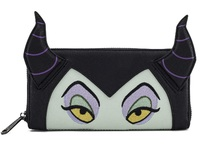 Loungefly: Disney Maleficent Face - Zip-Around Wallet