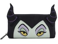 Loungefly: Disney Maleficent Face - Zip-Around Wallet