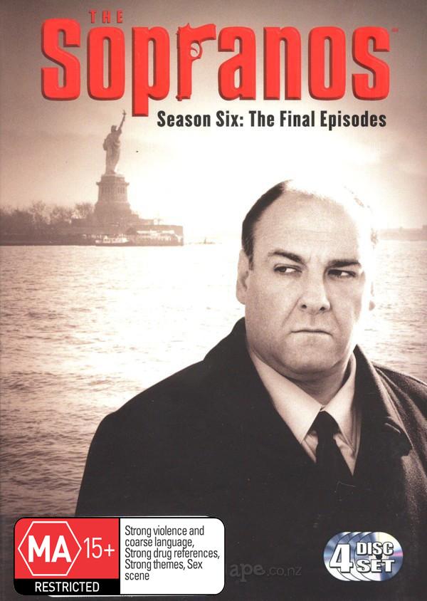 The Sopranos - Season 6 Part B: The Final Episodes (4 Disc Set) on DVD image