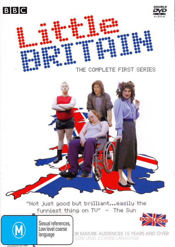 Little Britain - The Complete First Series (2 Disc) on DVD image