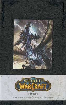 Warcraft Blank Journal - Dragons (Large) by Blizzard Entertainment image