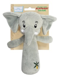 Little Golden Book: Saggy Baggy Elephant - Stick Rattle