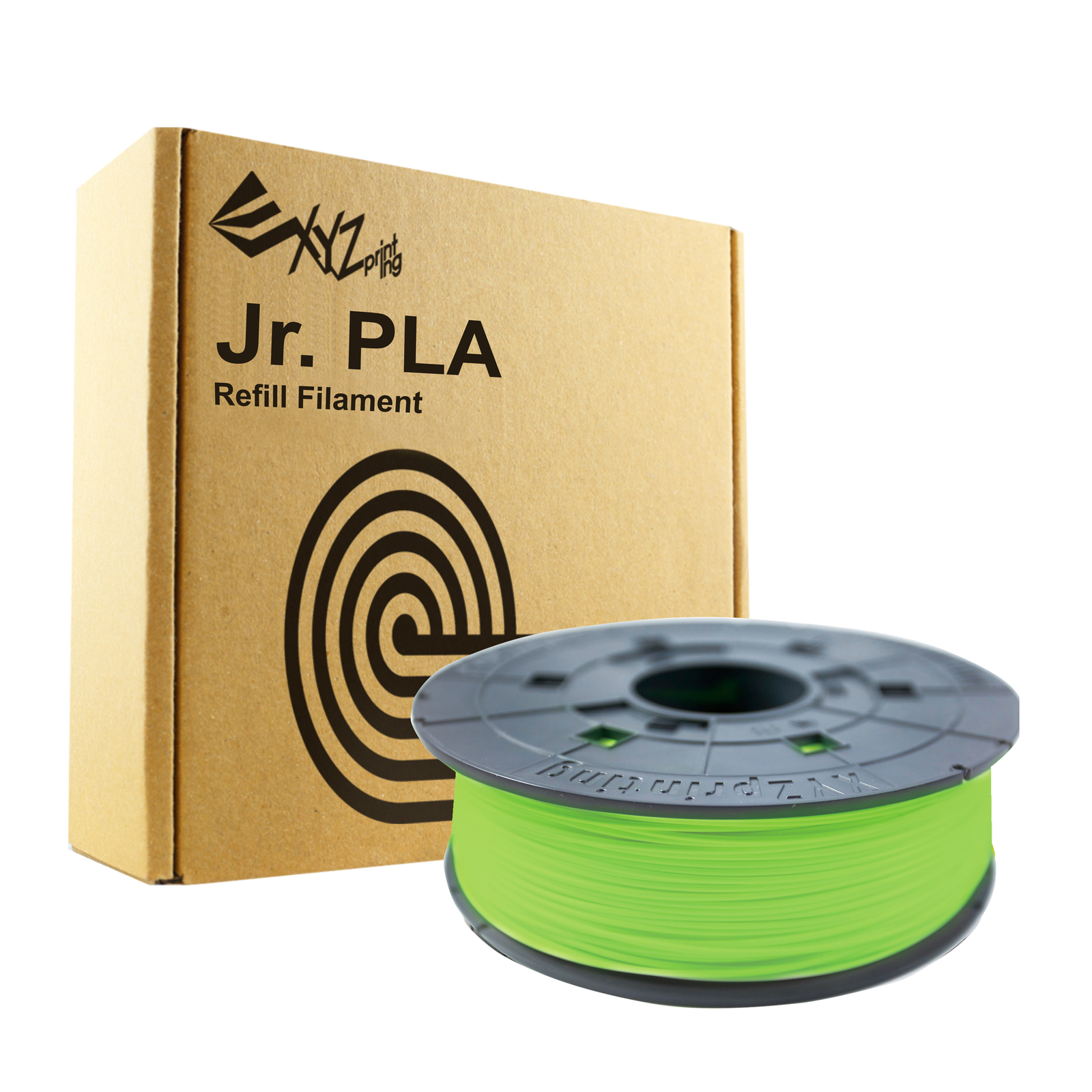 Da Vinci Filament For Mini Maker/Jr - PLA Refill Pack (Neon Green) image