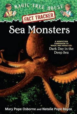 Magic Tree House Fact Tracker #17 Sea Monsters by Mary Pope Osborne image