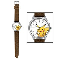 Pokemon: Pikachu Fabric Strap Watch - Brown