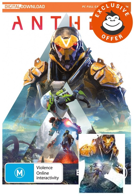 Anthem (code in box) for PC